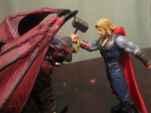 Thor vs. Orcus